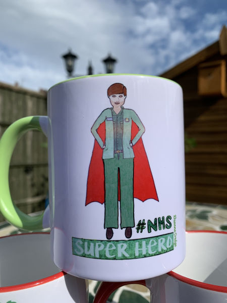 Picture of NHS- Super Hero Paramedic - CERAMIC MUG