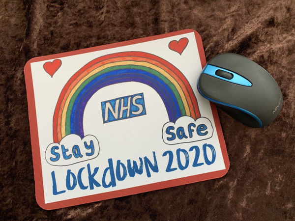 Picture of Lockdown 2020 NHS - MOUSE MAT