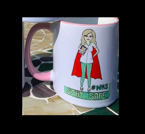 Picture of NHS- Stay Safe O.T Occupational Therapist- CERAMIC MUG