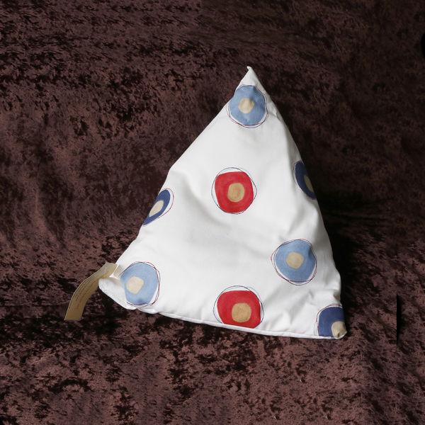Picture of CIRCLES / BALLS  ...iPad/e.Reader/Kindle/Book Cushion Pyramid bean bag -