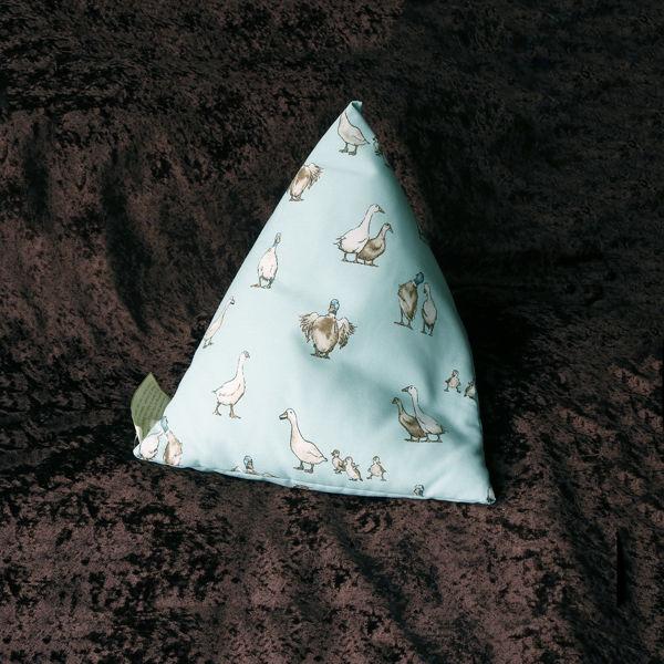 Picture of GEESE DUCKS  ...iPad/e.Reader/Kindle/Book Cushion Pyramid bean bag -