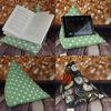 Picture of Blue/Grey NAUTICAL ...iPad/e.Reader/Kindle/Book Cushion Pyramid bean bag -