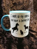 Picture of I work so my animals can have a better life  - CERAMIC MUG