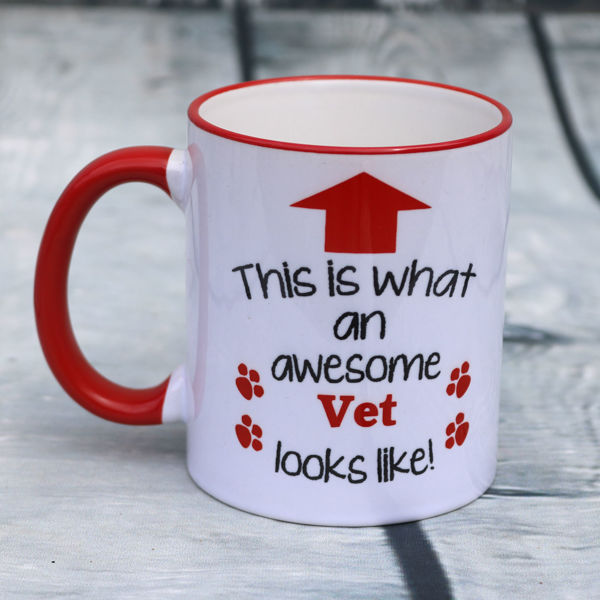 Picture of This is what an awesome Vet looks like - CERAMIC MUG