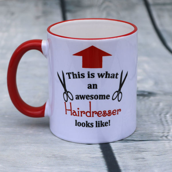 Picture of This is what an awesome Hairdresser looks like  - CERAMIC MUG