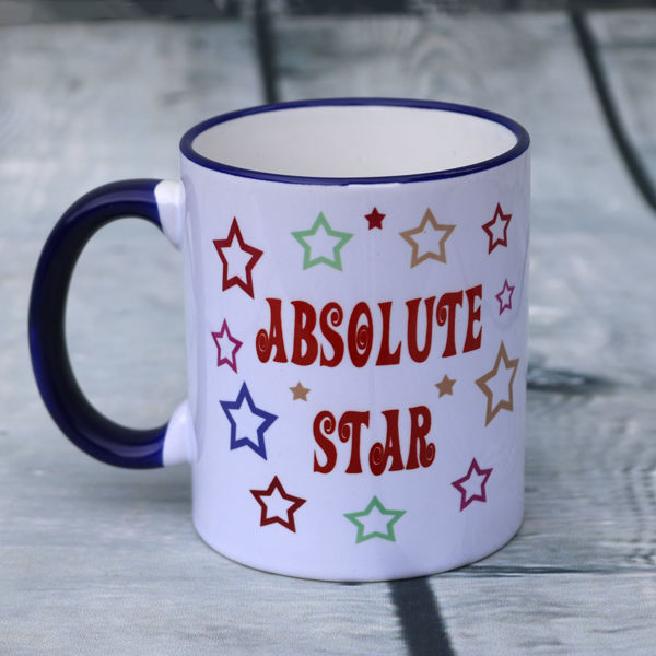 Picture of Absolute Star (for when you want to say a big thank you to someone really special) - CERAMIC MUG