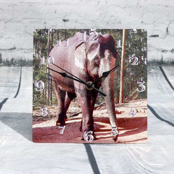 Picture of Elephant Clock