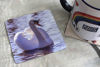 Picture of Swan #1 - Aluminium Drinks Coaster