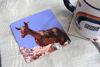 Picture of Goat #1 - Aluminium Drinks Coaster