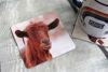 Picture of Goat #2 - Aluminium Drinks Coaster