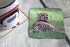 Picture of Cheetah #2 - Aluminium Drinks Coaster